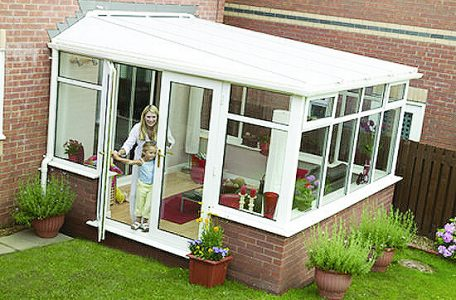 Installing A Discount Lean-to Conservatory