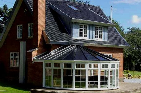 uPVC Conservatory Roof line