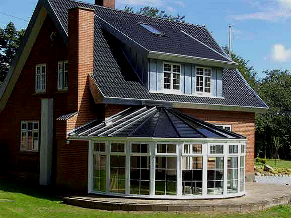 uPVC Conservatory Roof line